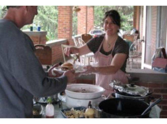 Jeanna Stavas is your innkeeper and your hostess