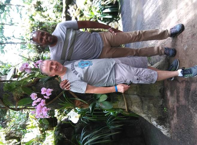 Mike and Paul, owners of Coyaba Tropical Guest House