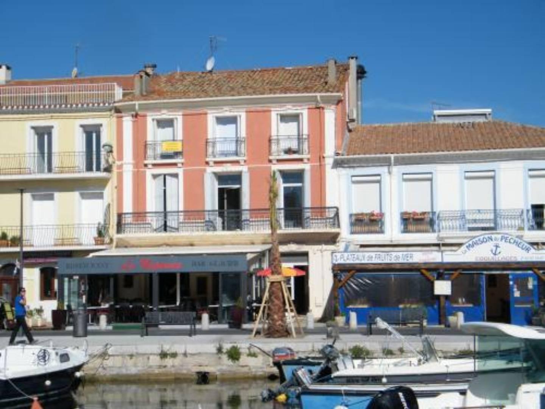 A large building at La Maison sur le Port.