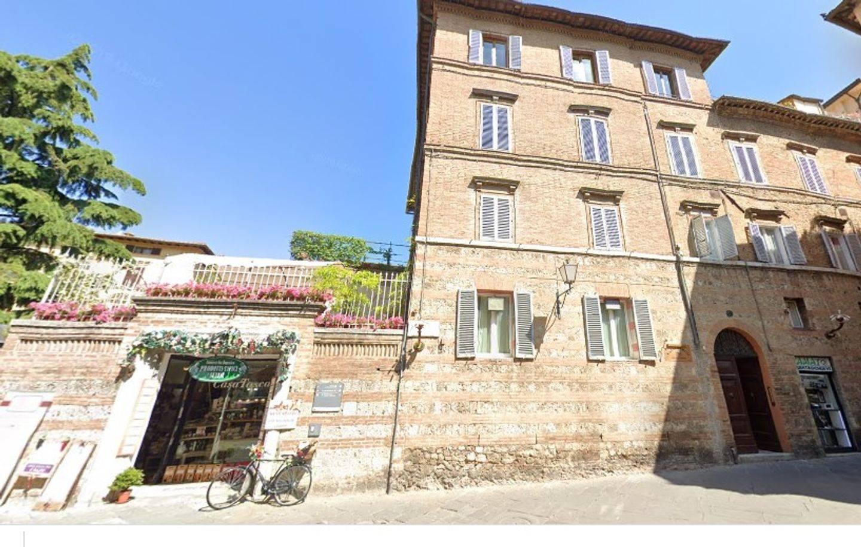 A large brick building at Casalbergo.